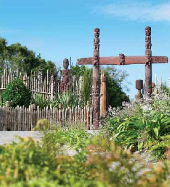 Figure 1: Entrance to Te Parapara Garden.