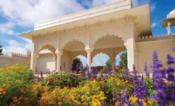 Figure 3: Pavilion of Char Bagh Garden.