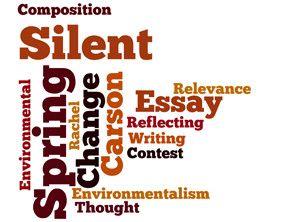 Silent spring tag cloud